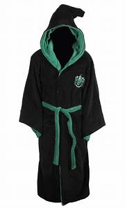 harry potter all houses adult fleece hooded bathrobe one With robes housses