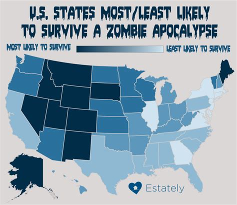 zombie apocalypse survive map state does likely york states most would estately zombies takes maps survival which population areas safest