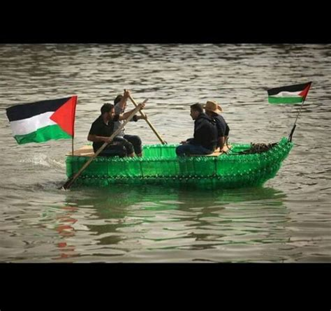 Boat Stuck In A Bottle by Recycled Bottles Boat Only In Palestine Elmens