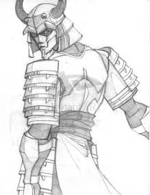 Samurai Battle Drawings