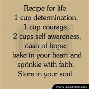 Family Recipe Q... Recipe Life Quotes