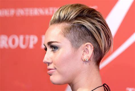 Miley Cyrus Short Straight Cut