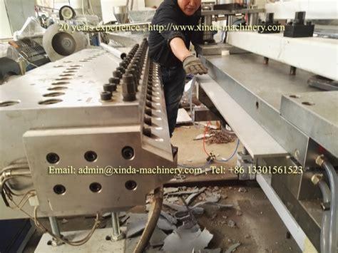 pvc quartz artificial marble sheet making machine xinda machinerypvc foam board production