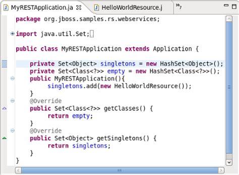 java template class jboss restful web services user guide