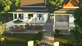 Simple Country Style Mansions Ideas by Thai House Design Ideas
