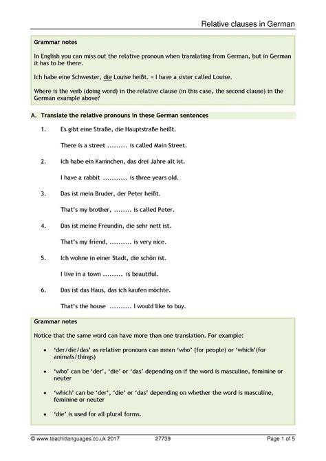 Ks4 German Topics  Teachit Languages