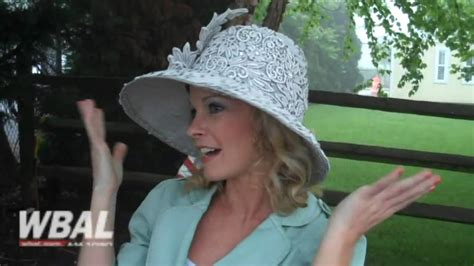 Preakness Hats With Wbal's Sandra Shaw