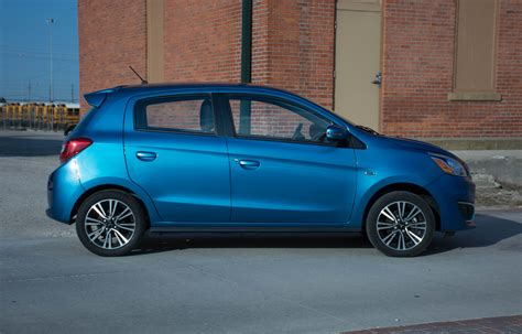 mitsubishi mirage 2017 mitsubishi mirage gt review frugal meets frivolous