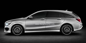 Mercedes Cla Break : renderings mercedes cla shooting brake ~ Melissatoandfro.com Idées de Décoration