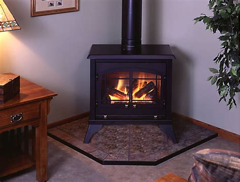 Vermont Casting Electric Fireplace Free Standing Gas