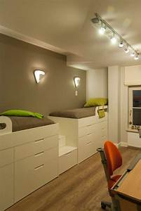 Innovative, Twin, Loft, Bed, With, Desk, In, Kids, Contemporary, With, Building, Loft, Beds, With, Desks, Next