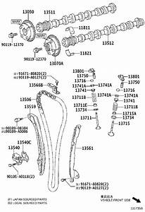 Toyota Camry Engine Timing Chain Tensioner Gasket  Gasket