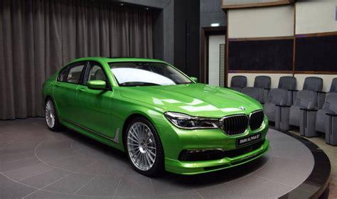 bmw alpina   java green
