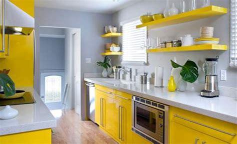 cuisine grise et jaune organisation deco cuisine gris et jaune deco cuisine
