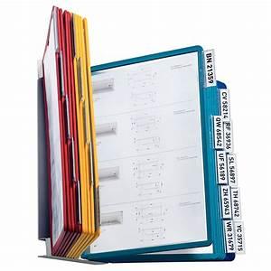 Porte Document Mural : syst me mural vario 20 pochettes durable vente de pupitre porte document la centrale du bureau ~ Teatrodelosmanantiales.com Idées de Décoration