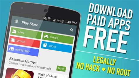free app for android paid android apps free from play no root
