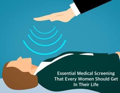essential medical screening   woman