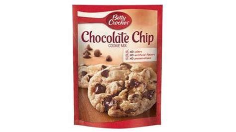 betty crocker chocolate chip cookie mix bettycrockercom