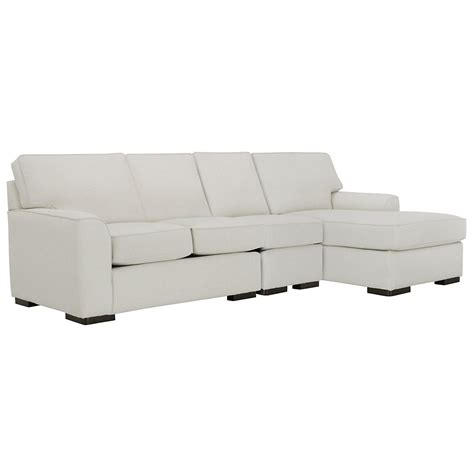 white fabric sectional sofa with chaise city furniture austin white fabric small right chaise