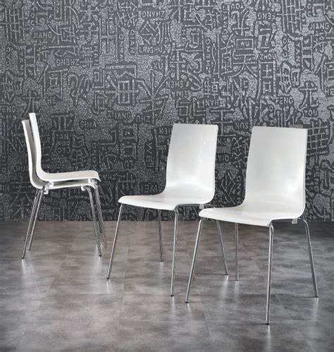 Chaise Blanche Pied Metal by 1000 Images About Fauteuils Chaises Design Ou