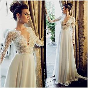 Open back wedding dresses with sleeves naf dresses for Open back wedding dresses lace