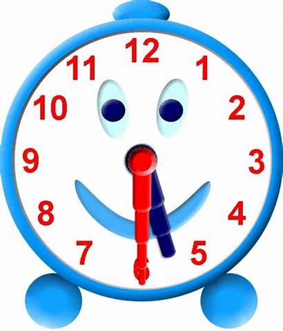Clock Thirty Five Past Edupic Math Half