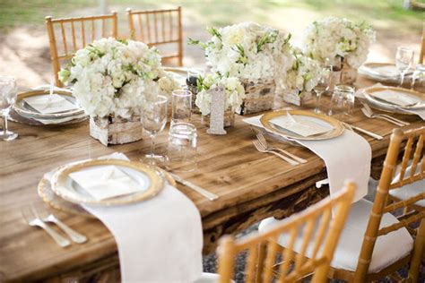 Outdoor Wedding Receptions Fabulous Weddings