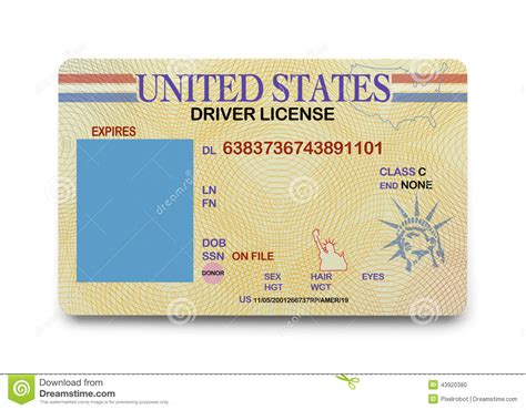 blank drivers license template psd images north