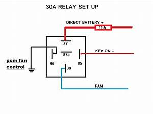 Cooling Fan Relay Wiring Diagram No