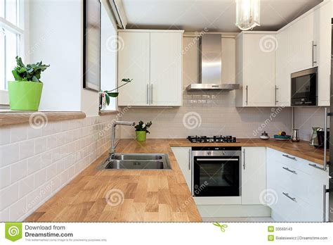 white kitchen cabinets with wood countertops vintage mansion countertop stock image image of decor 2092