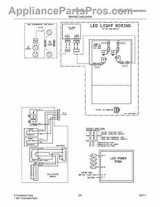 Parts For Frigidaire Lgub2642lf3  Wiring Diagram Pg 2