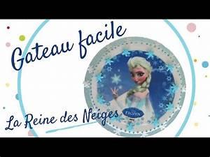 Gâteau Reine Des Neiges : faire un gateau reine des neiges frozen cake gateau ~ Farleysfitness.com Idées de Décoration