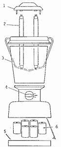 Coleman Fluorescent Lantern Parts