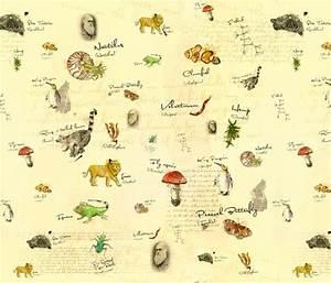 Charles Darwin fabric by Lisa Brown on Spoonflower ...