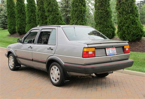 1988 Volkswagen Jetta Gli 16v Trophy  German Cars For