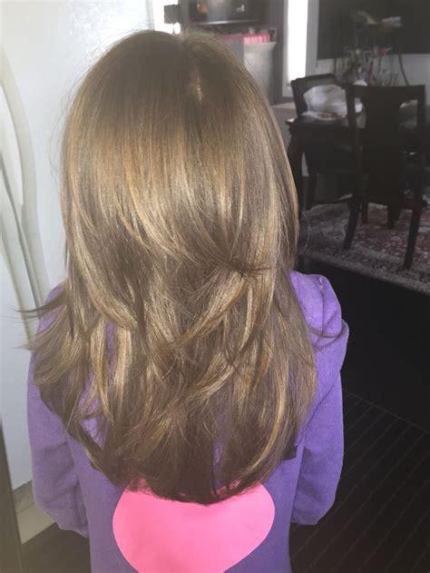 little girls layered haircut my board pinterest