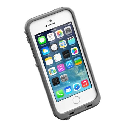 iphone 5s cases lifeproof lifeproof fre for iphone 5s white grey