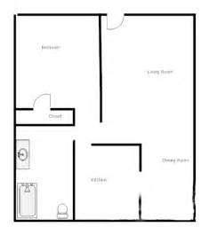 one two bedroom house plans one bedroom cottage floor plans