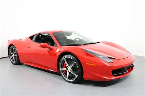 Years 2015 2014 2013 2012 2011 2010. 2015 Ferrari 458 Italia 2dr Cpe for sale #118851 | MCG