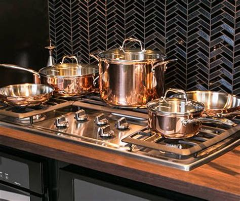 rose gold copper pots  pans appliances  kitchen tools pinterest beautiful copper