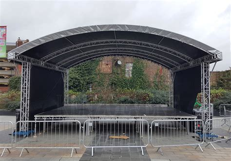 aluminum concert stage curved roof truss  sale buy