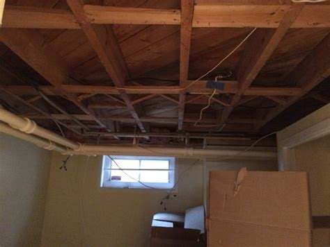 soundproof drop ceiling in basement how to do sound proof to bare wood ceiling