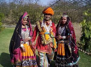 Rajasthani dress.