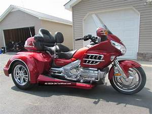2008 Honda Goldwing Gl1800 Roadsmith Trike With Running Boards