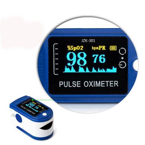 easihealth LED Finger Pulse Oximeter Heart Rate Monitor