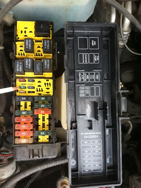 96 Jeep Fuse Box by Xj Fuse Box Wiring Diagram