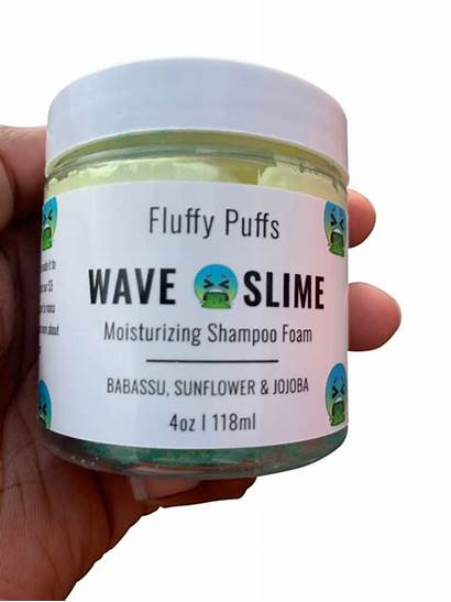 Fluffy Slime Waves Shampoo Puffs Wave Haircut