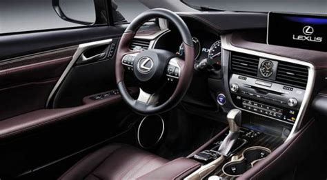 lexus suv rx 2017 interior 2017 lexus rx 450h release date msrp changes specs