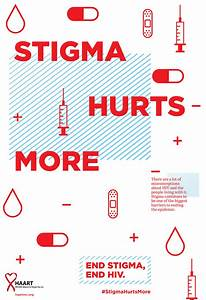 """Stigma Hurts More"" Poster on Behance"