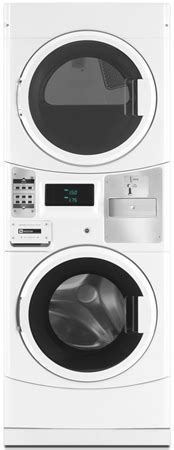 Maytag Commercial Stackable Gas Washer Dryer   MLG20PDWH